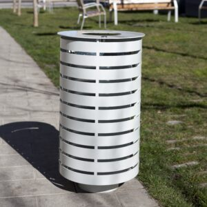 Tower Litter Bin
