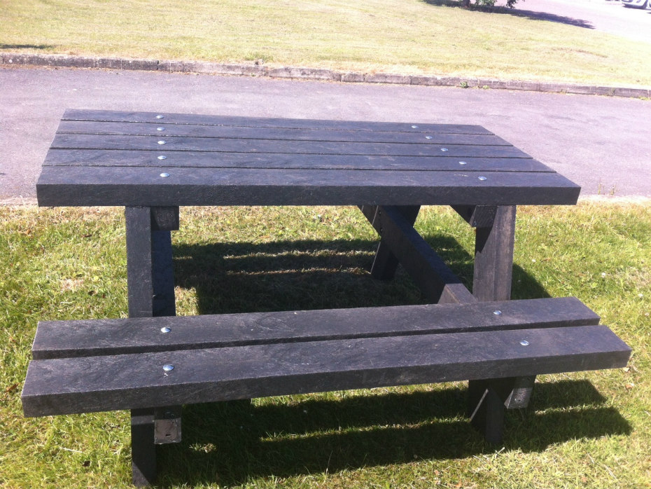 Recycled Plastic Picnic Table Street Furniture Suppliers Metal Casting Castit