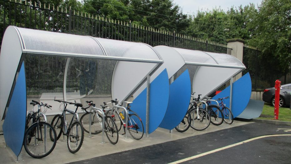 Moon Bicycle Shelters for Irish Distillers - Fox & Geese Facility
